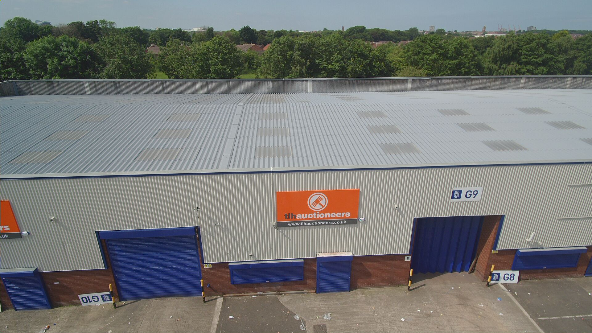Liver Industrial Estate Aintree C Amp W Roofing