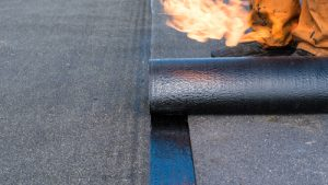 flat roof waterproofing - felt roofing