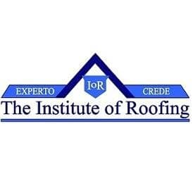 The Institute of Roofing Logo