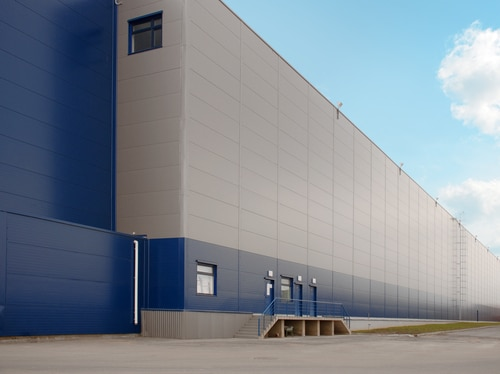 industrial cladding installations